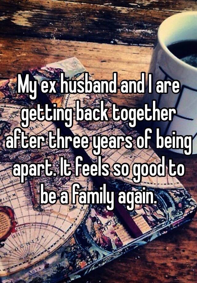 Hookup an ex after years apart