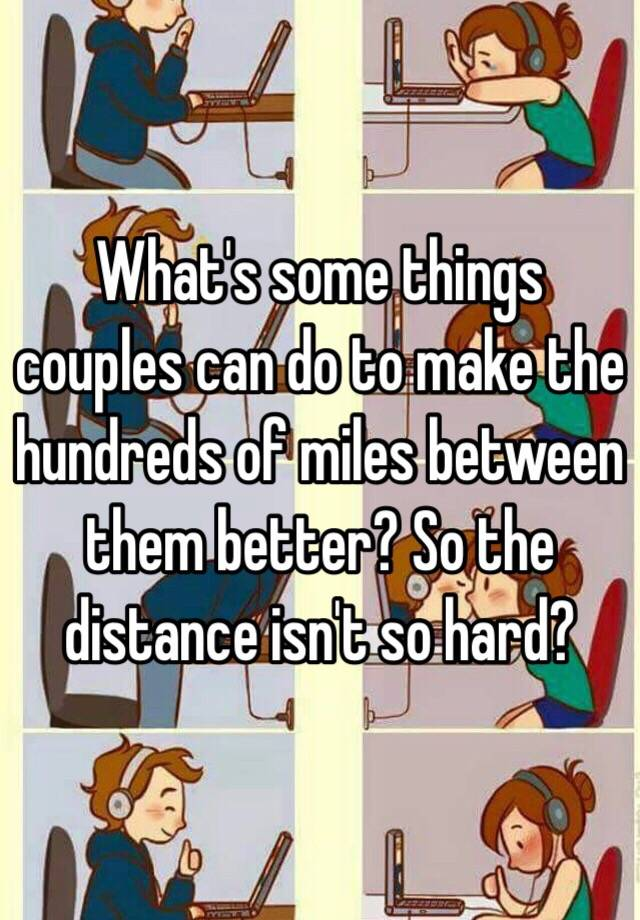things couples can do