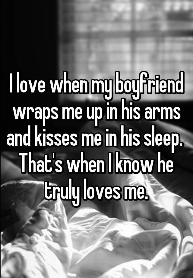 how do i know my boyfriend truly loves me