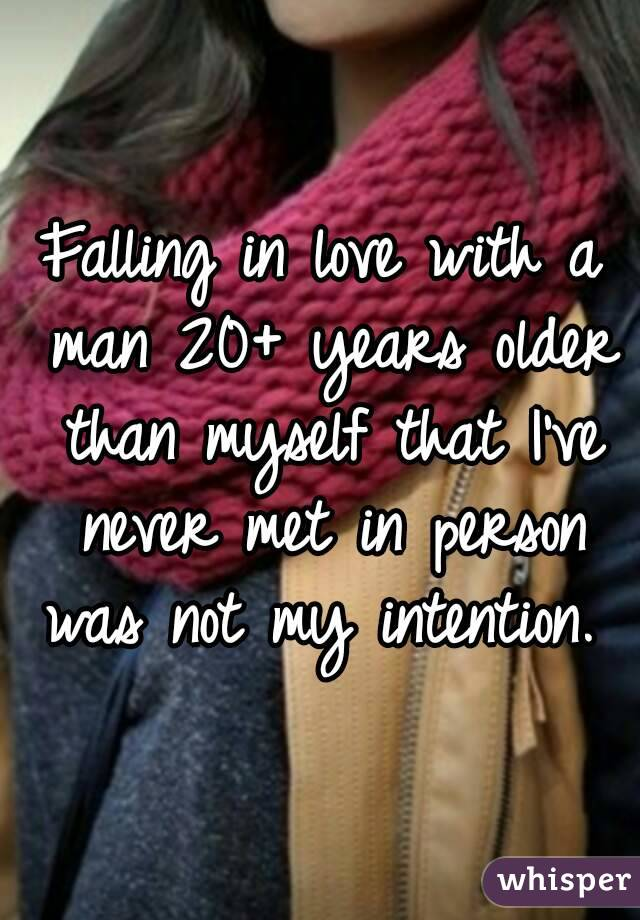 Falling In Love With An Older Man