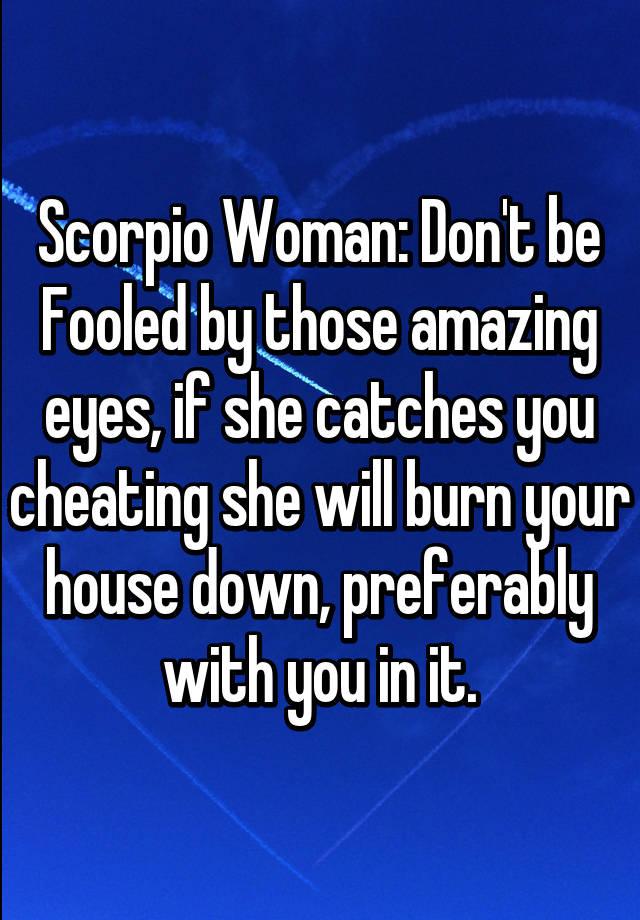 Scorpio women eyes