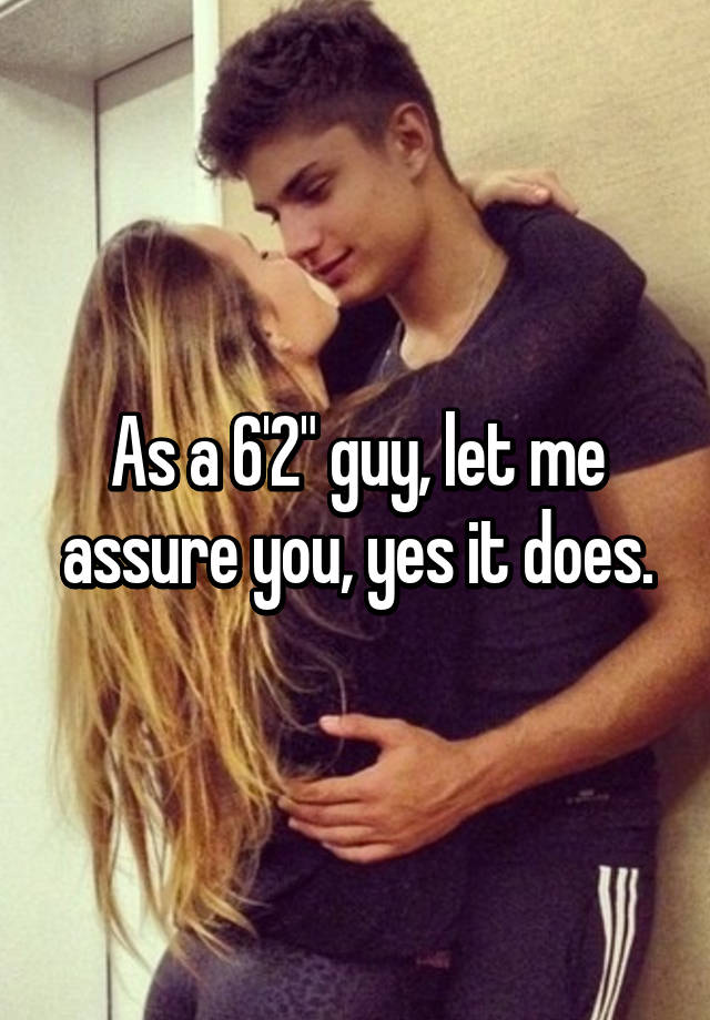 would a tall guy date a short girl