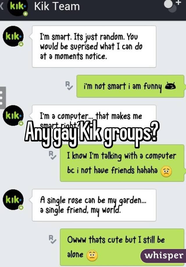 Kik gays