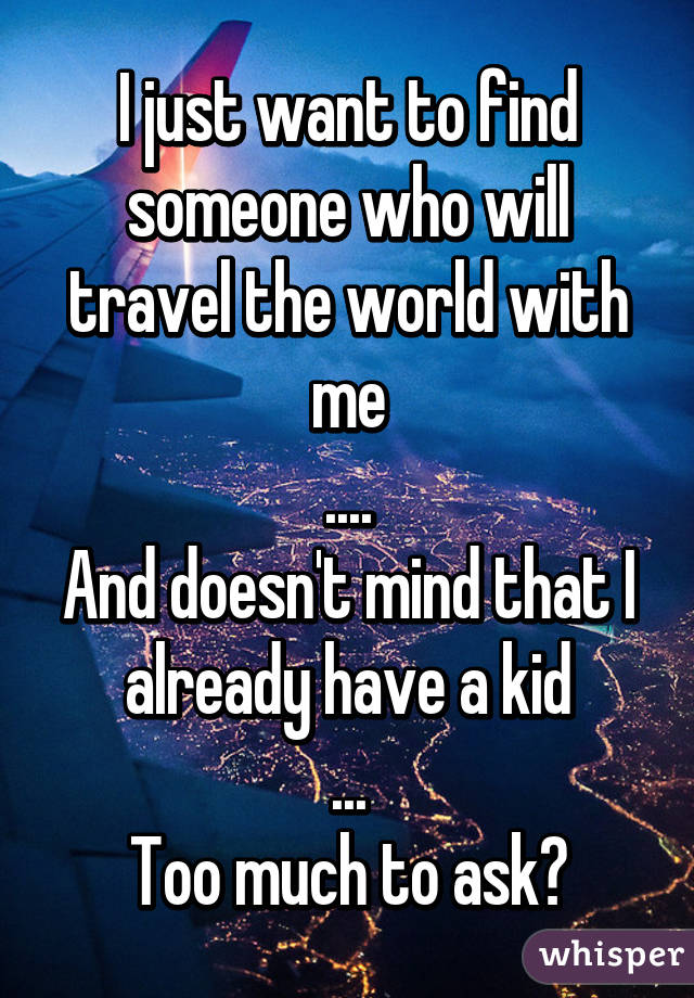 Find someone to travel with