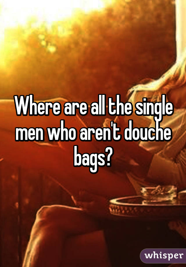 Where Are All The Single Men