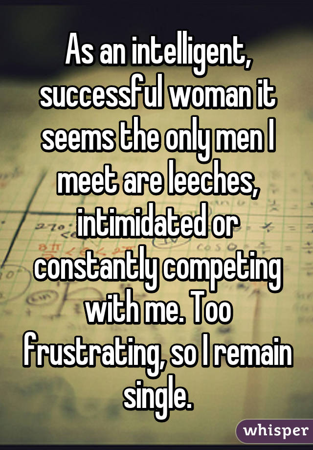 Strong why by women intimidated men are Ask A