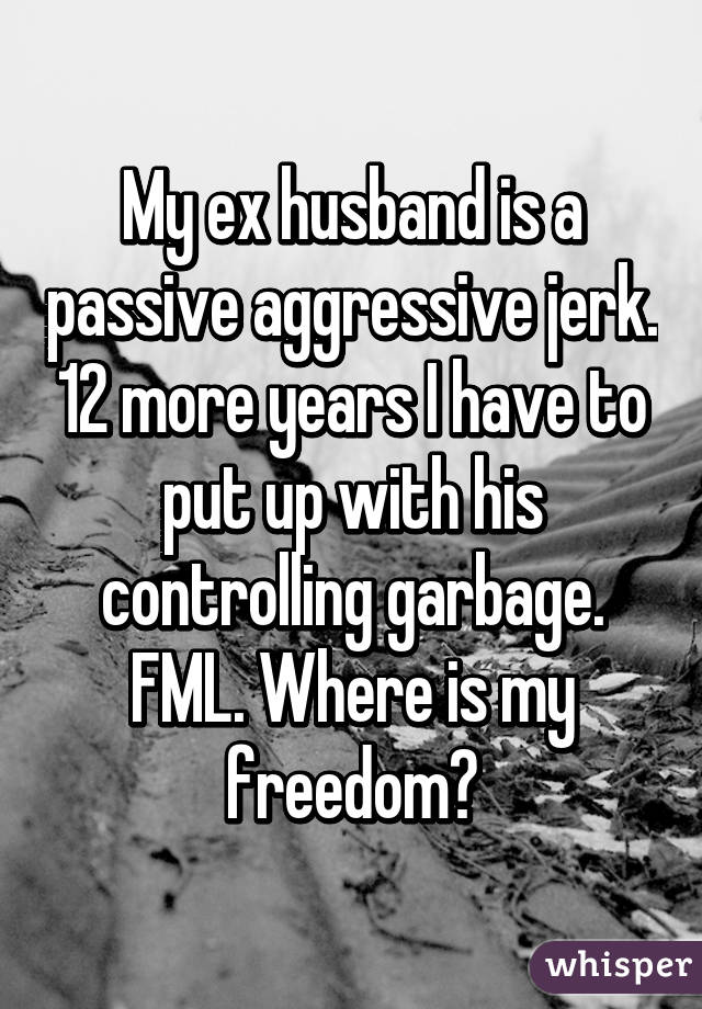 what is a passive aggressive man