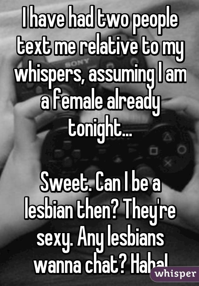 Sexy lesbian chat