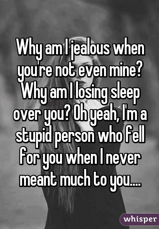 how do you know someone is jealous of you