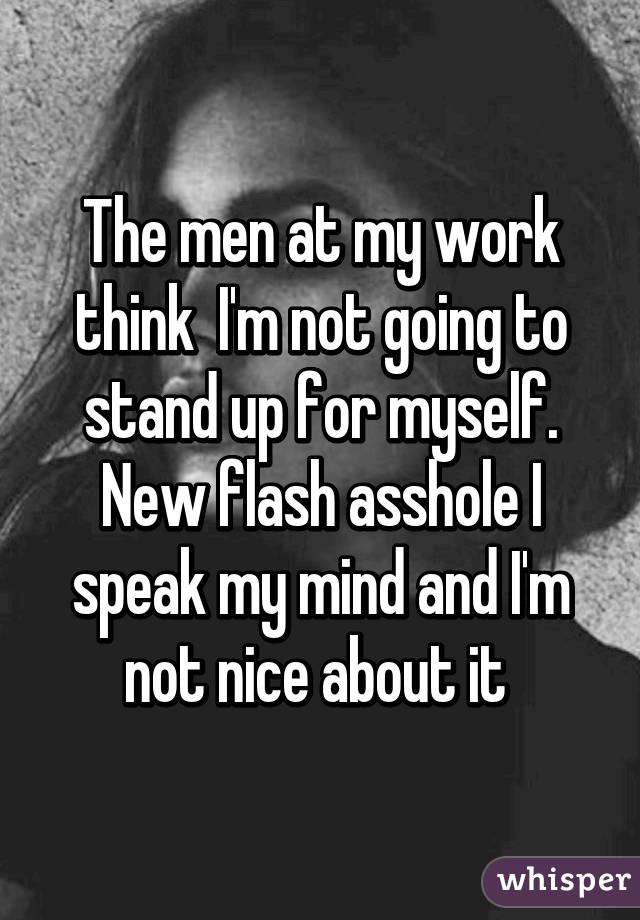 asshole Im flash an