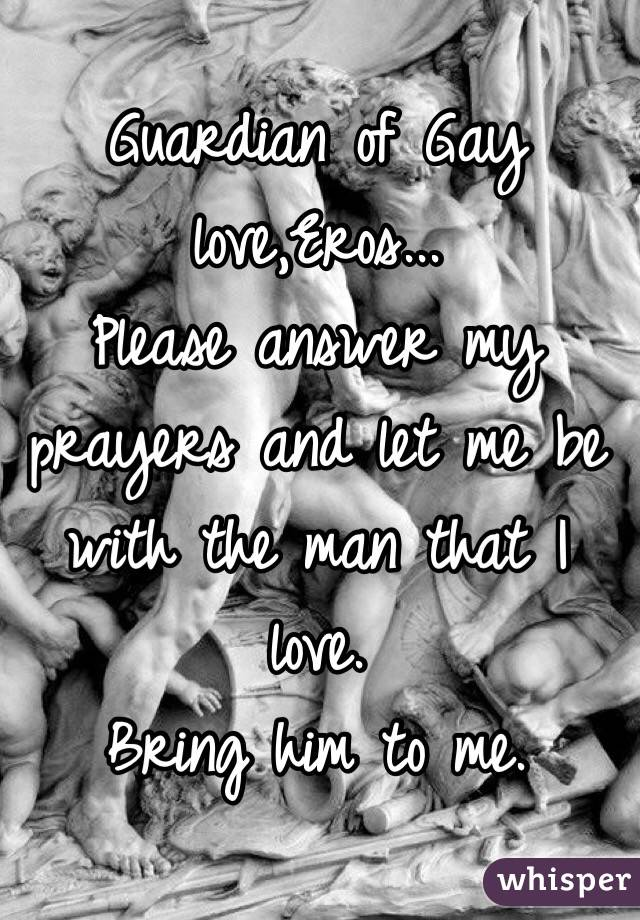 Prayer for a man to love me