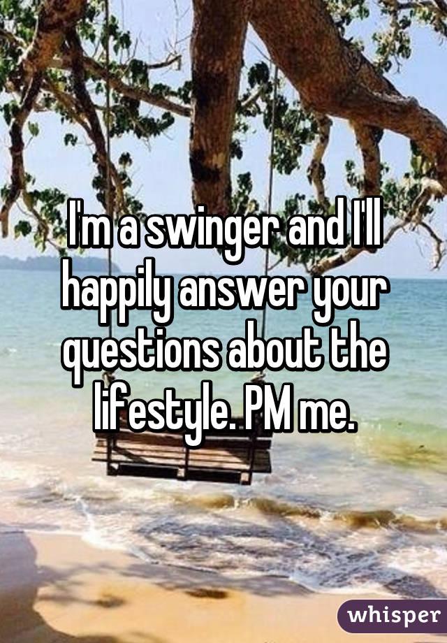 Swinger questions