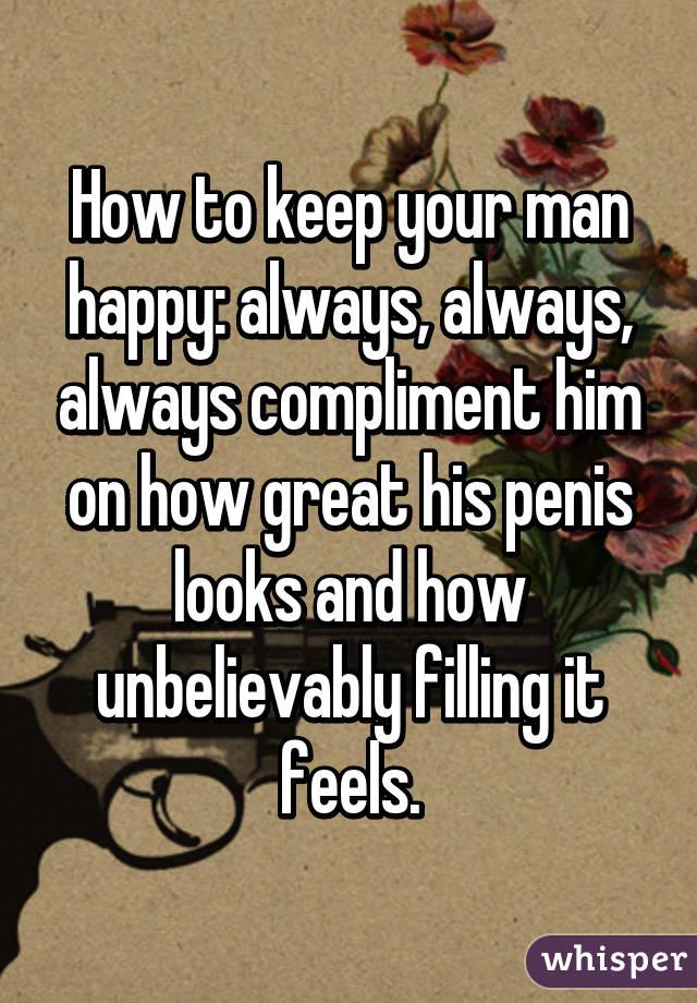 compliment penisului