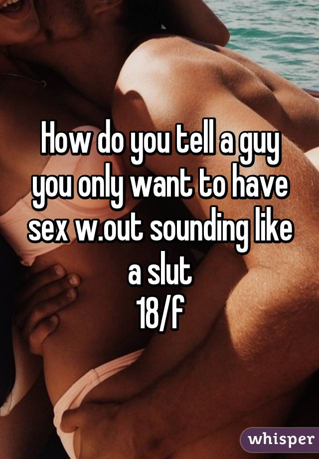 Guy Love Sounding