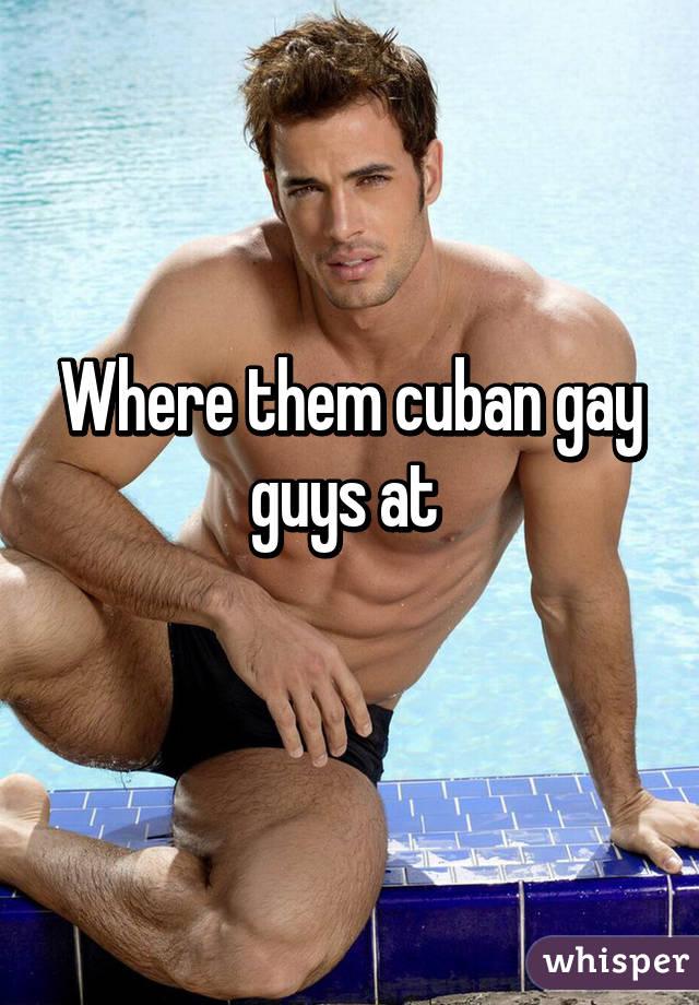 Cuban gay guys