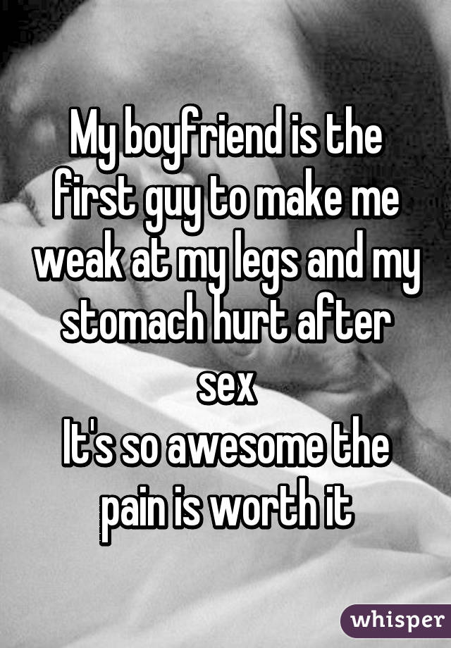 stomache-pain-after-sex