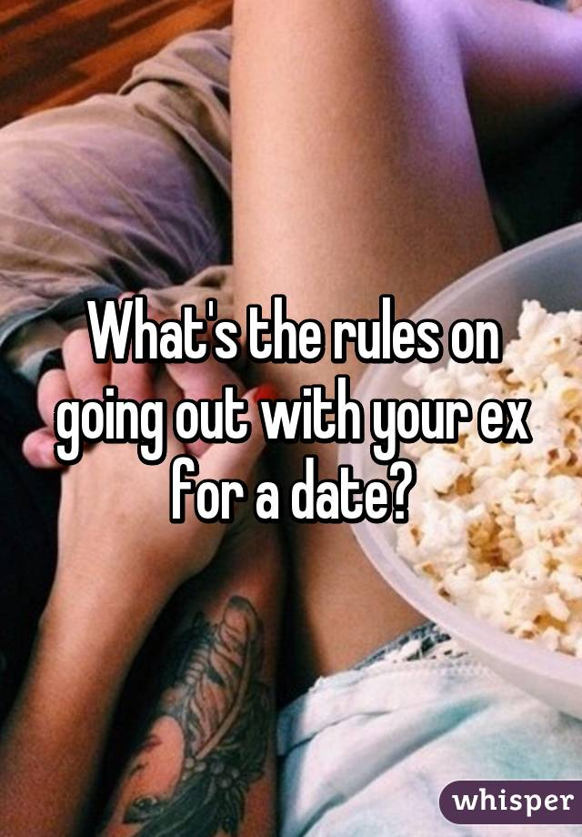 Going On A Date With Your Ex