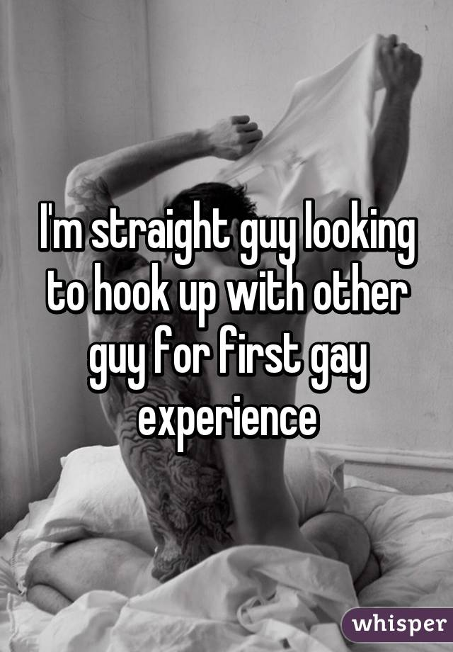 First hook up gay