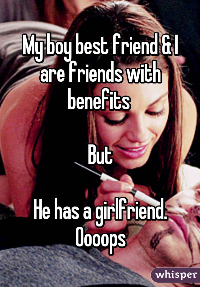 Friends with benefits best friend