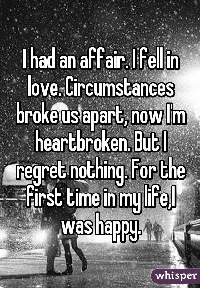 why i had an affair
