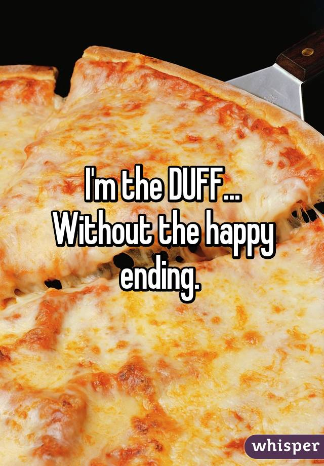 I'm the DUFF... Without the happy ending.