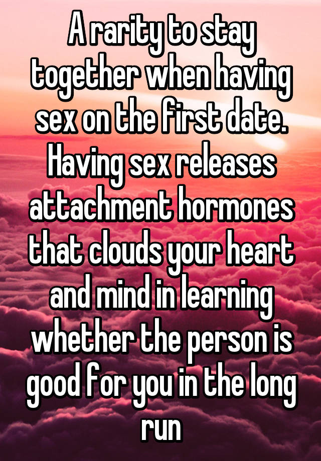 Is having sex good for you