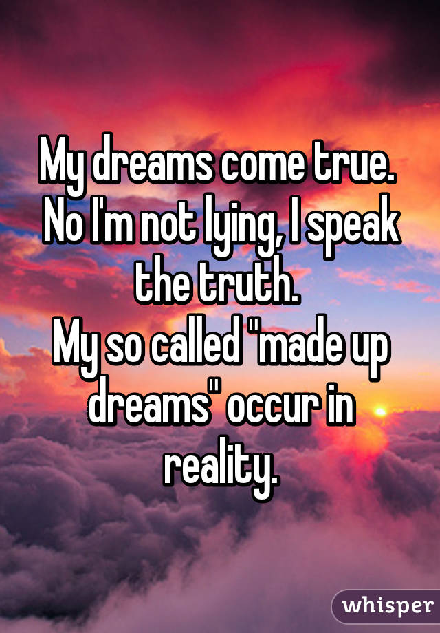 make my dreams come true essay