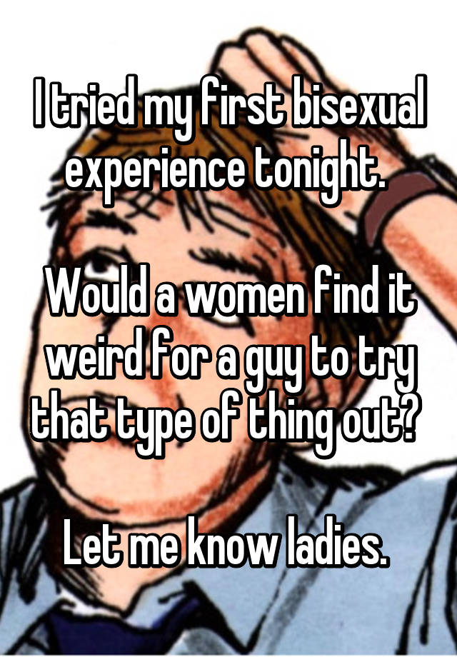 My first bi sexual experience
