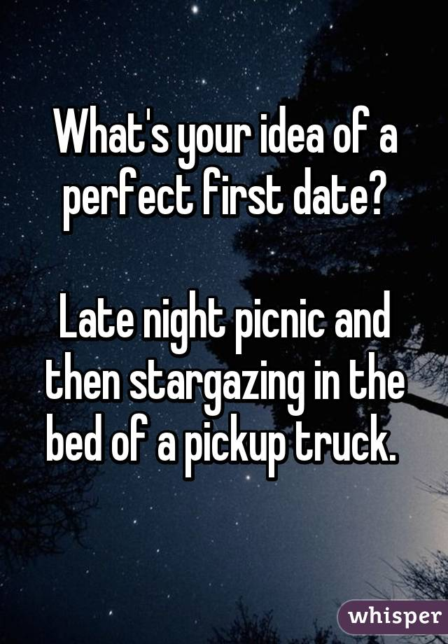 Perfect 1st date