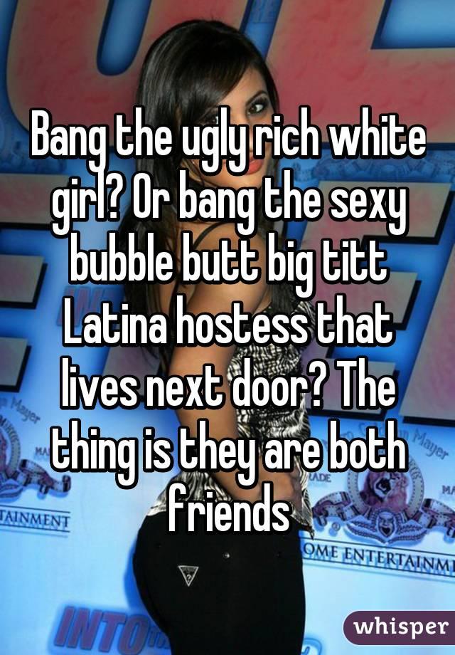 I Need A White Girl