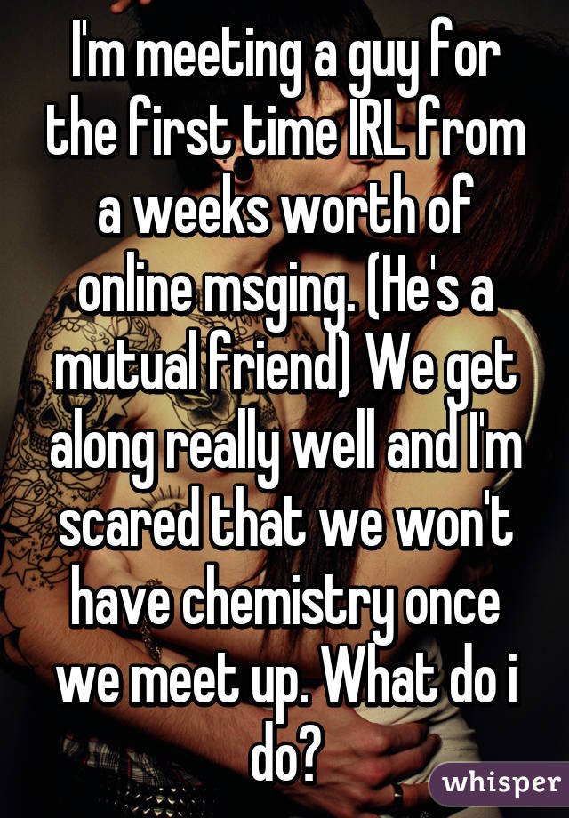 What To Do When First Meeting A Guy