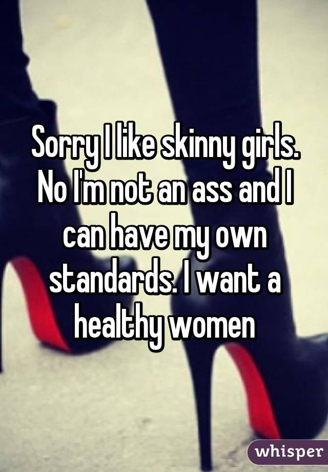 skinny girls asses