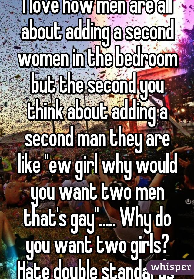 do women want two men at once