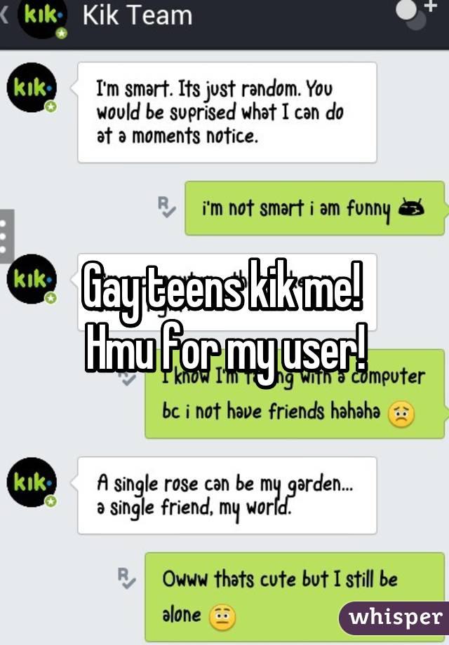 On single kik teens Kik on