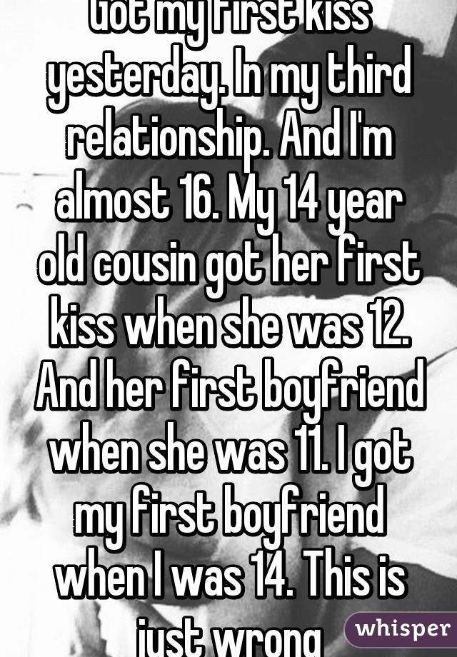 im 12 and dating a 14 year old