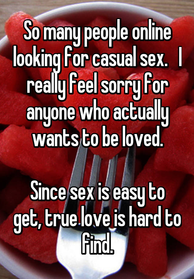 Find people for sex
