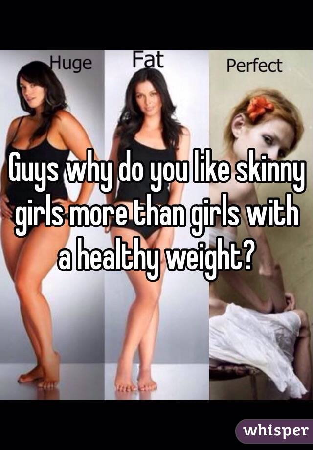 Do men like skinny girls