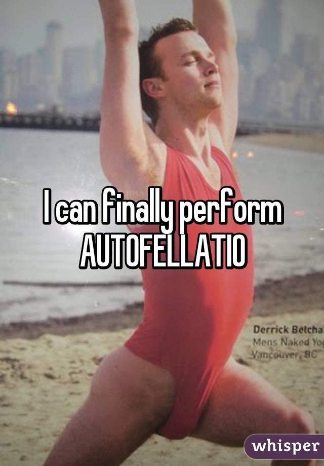 How To Do Autofelatio