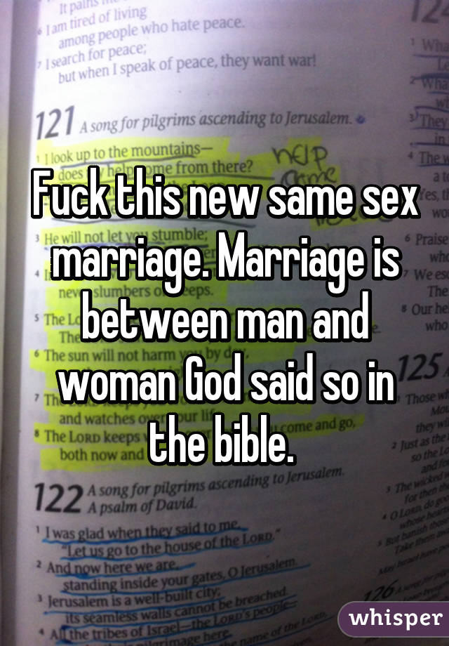 Same sex marriage and the bible pic 46