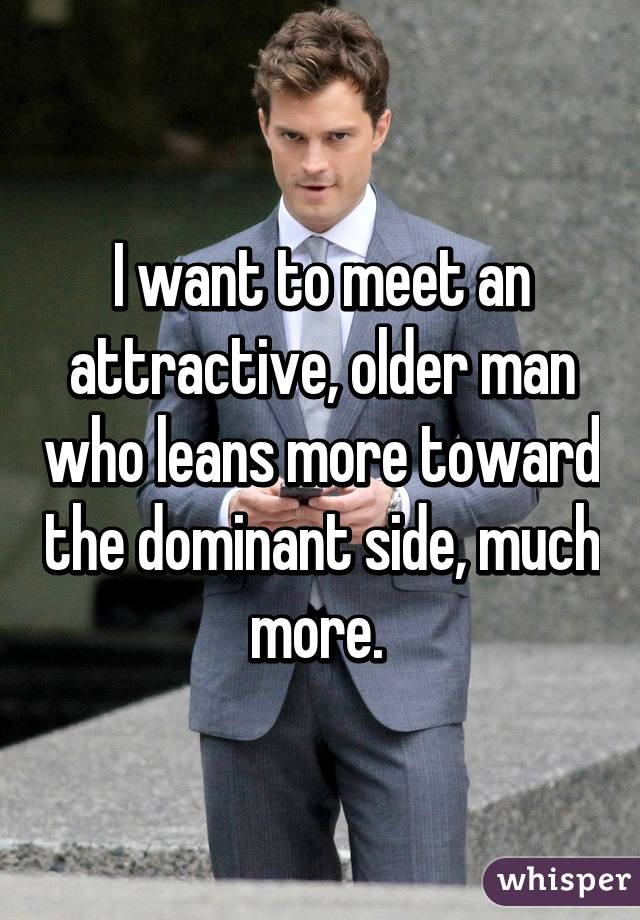How To Meet An Older Man