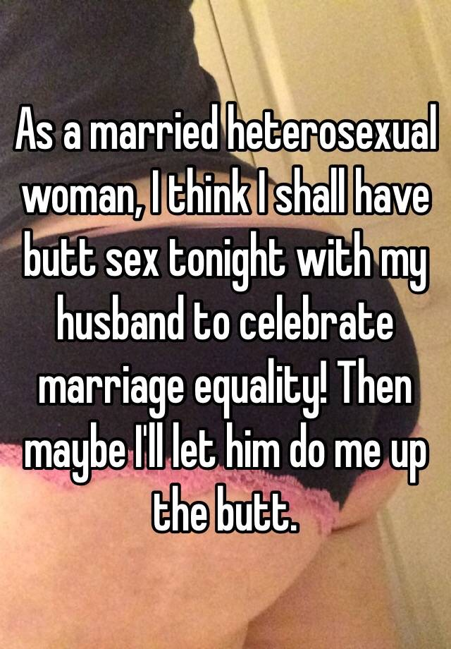 Husband loves butt sex