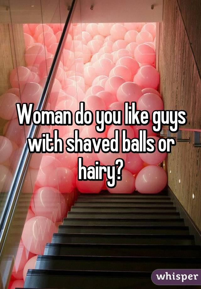 balls Do women prefer shaved