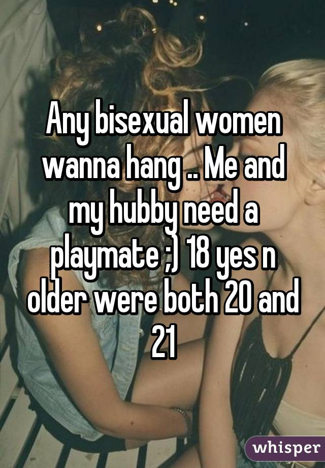 My hubby is bisexual