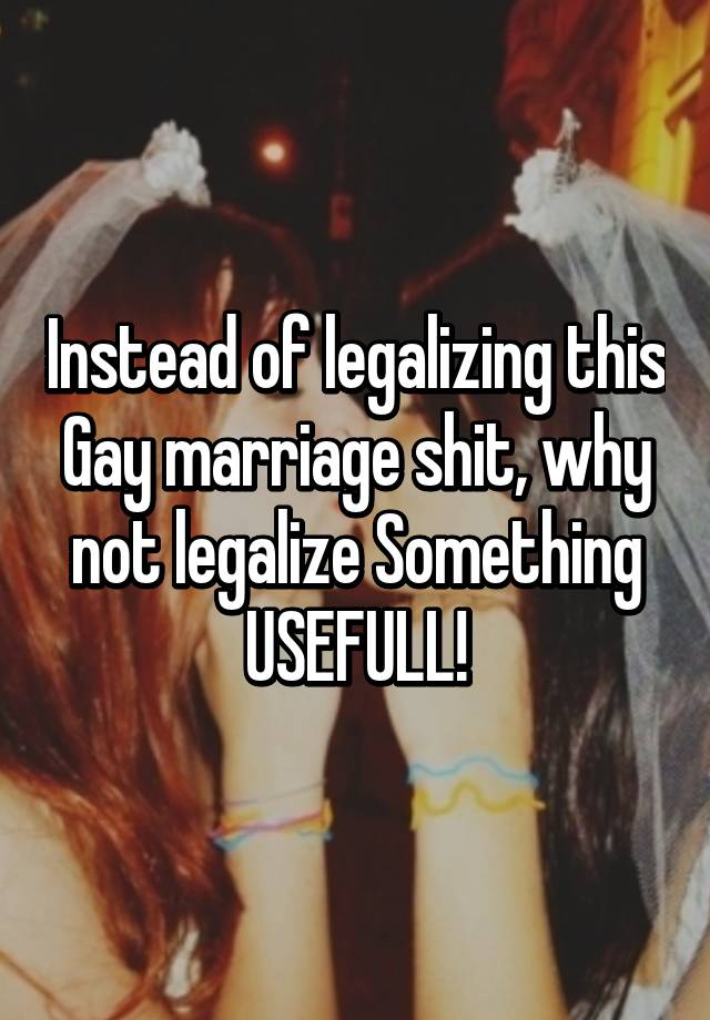 why not legalize marriage Some observers say when the supreme court legalized gay marriage, it didn't specify why marriage rationale could be used to legalize plural marriage.