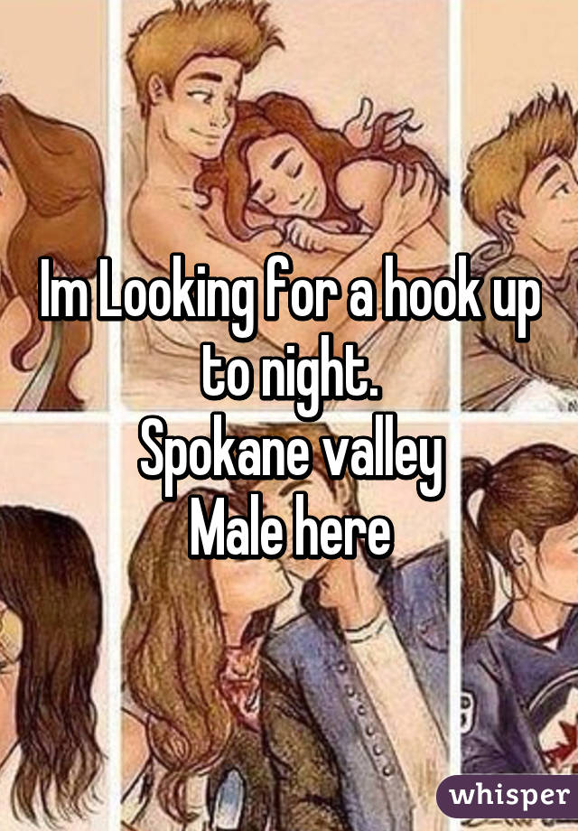 Im Looking for a hook up to night. Spokane valley Male here