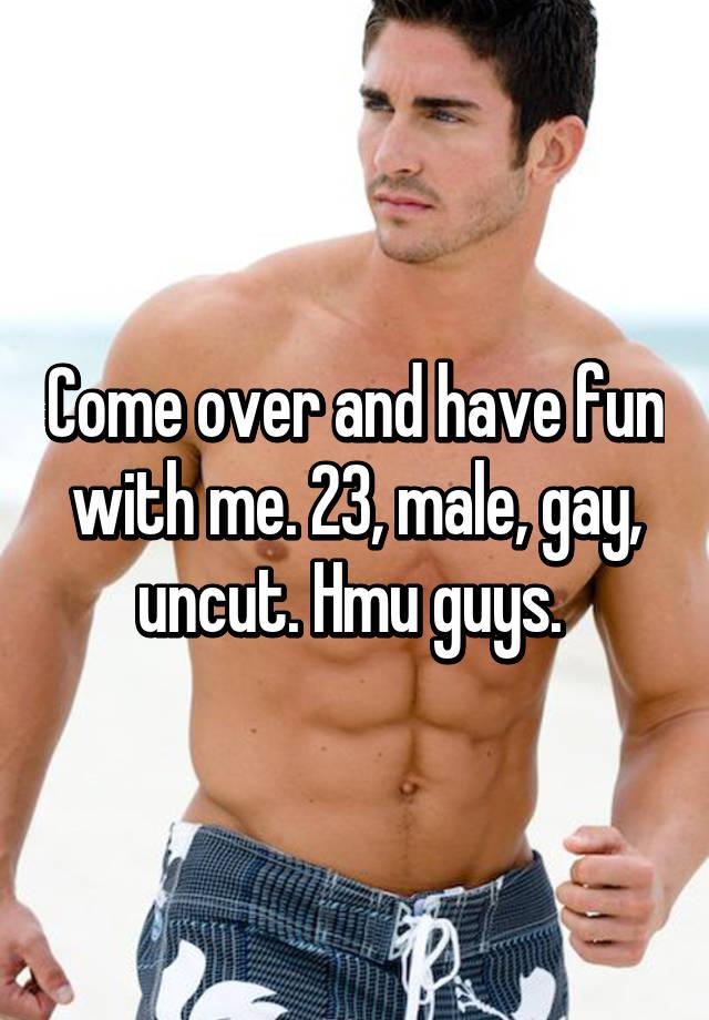 man uncut Gay