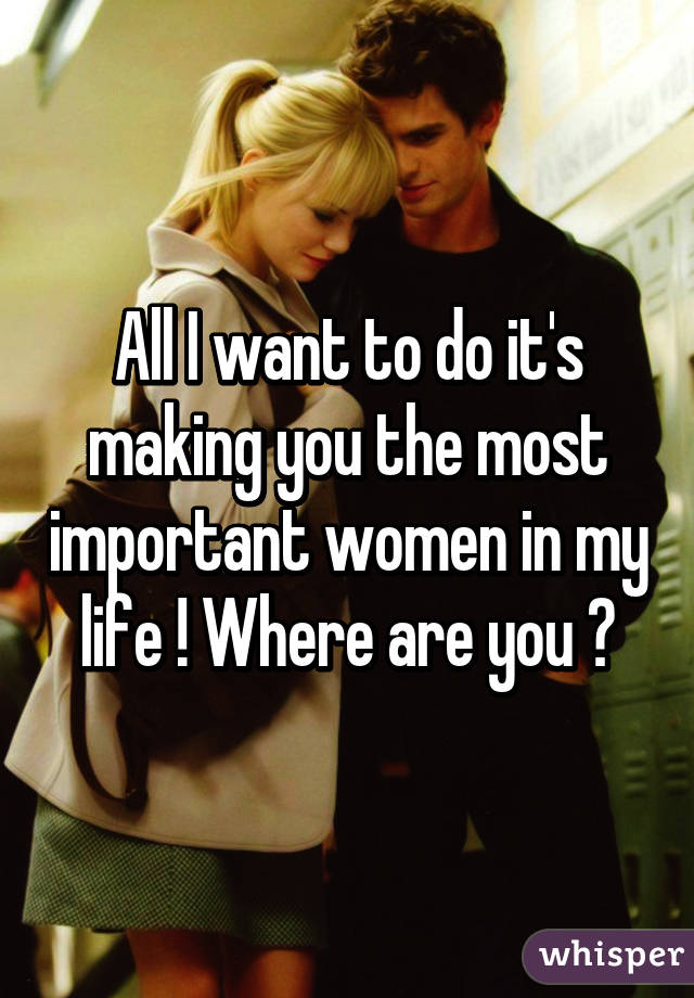I Want A Woman In My Life