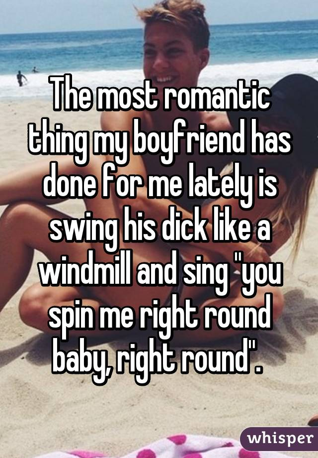 you spin me round dick