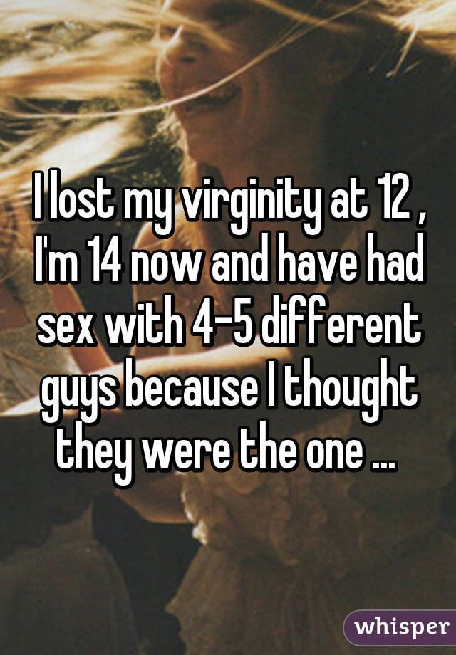 Im 12 and just had sex