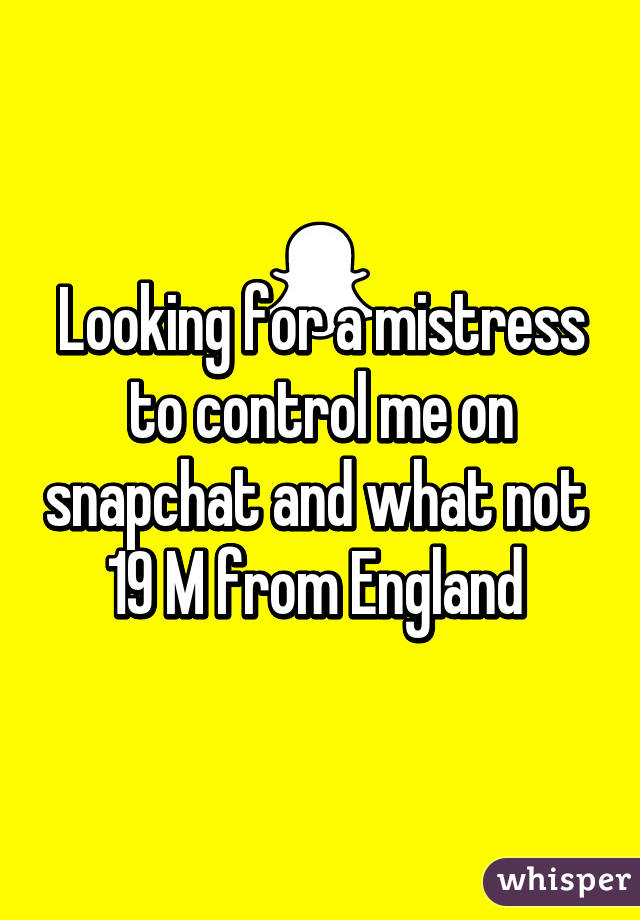 Commit looking for a mistress good idea